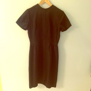 Simple Black Vintage Dress